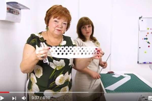 Обработка края ткани шитья Как обработать срезы изделий хлопком Косая бейка из батиста своими руками