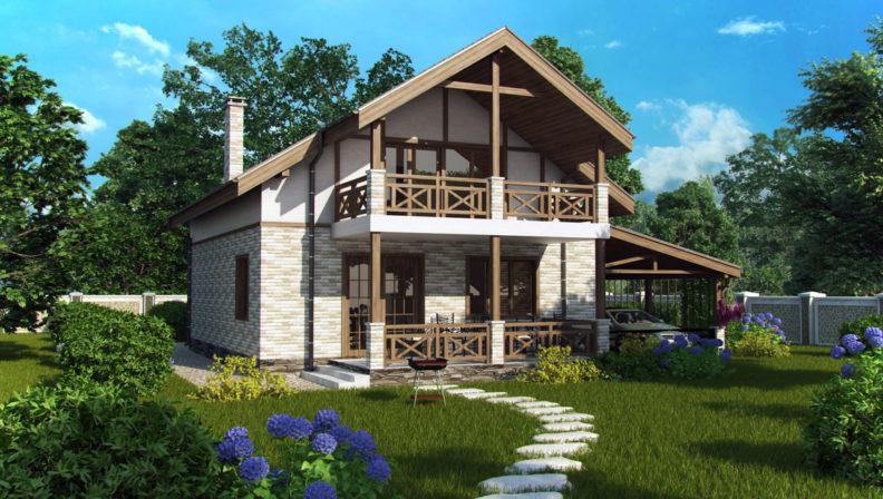 Дома с мансардой- проектирование