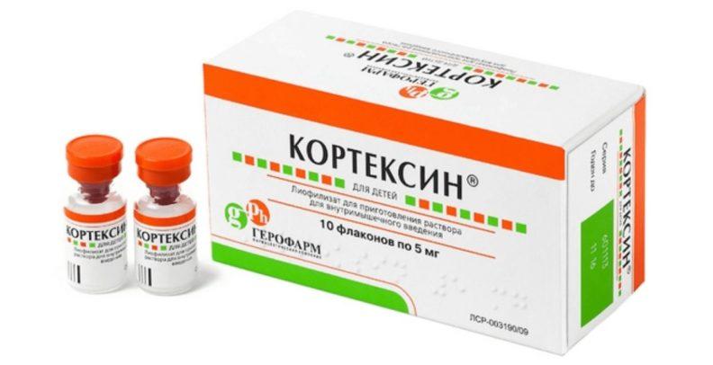 """Применения препарата """"КОРТЕКСИН"""""""