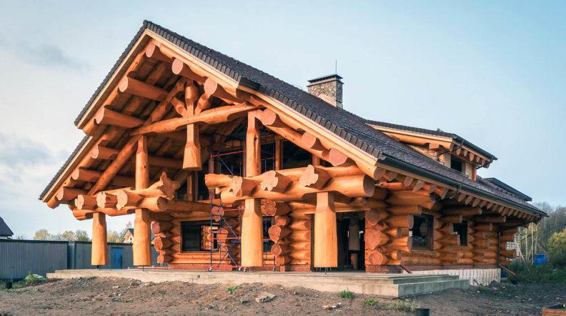 Виды домов из дерева