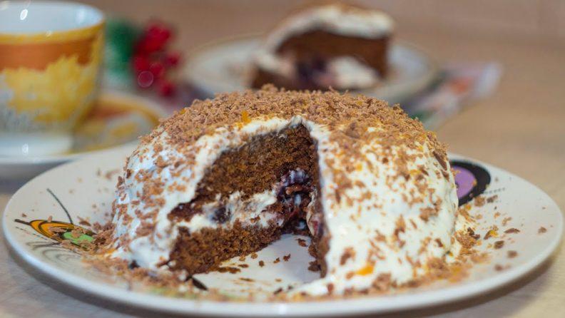 Как приготовить торт в микроволновке