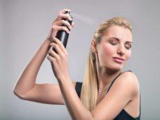 Как выбрать профессиональный лак для волос?