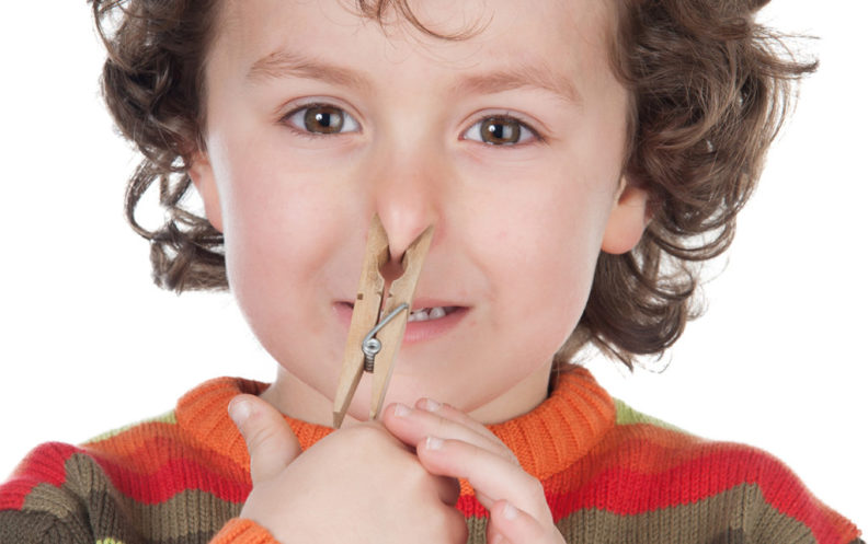 Запах изо рта у ребенка