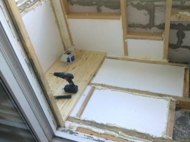 Технология самостоятельного утепления балкона