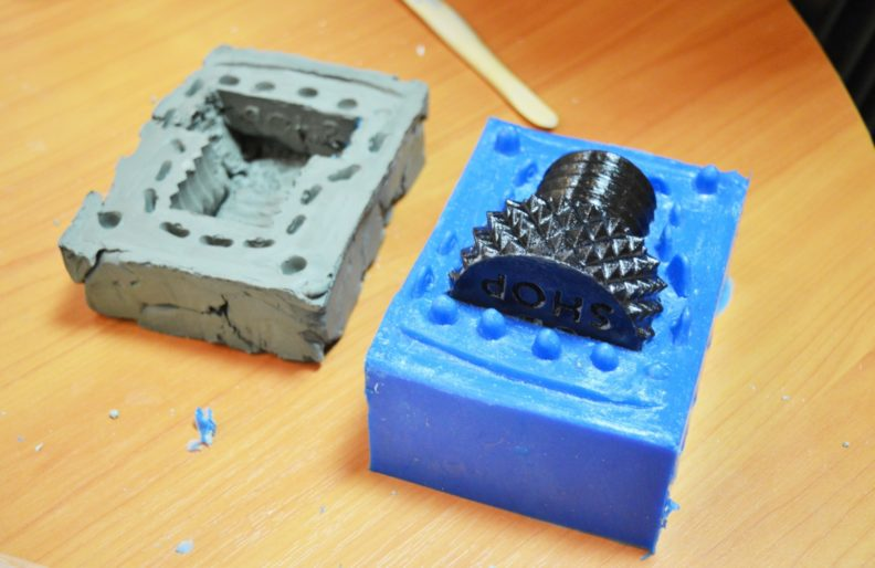 Особенности процесса литья в силиконовые формы