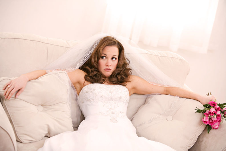 Как не волноваться перед свадьбой