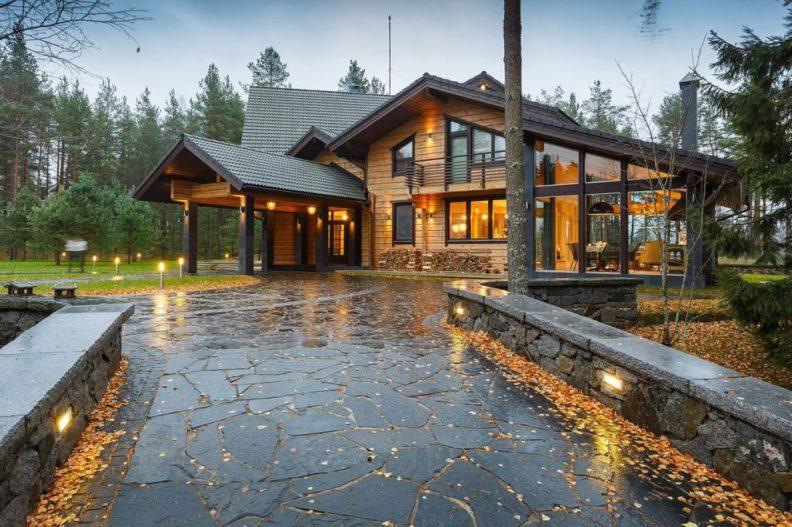 Тонкости процесса проектирования домов из клееного бруса