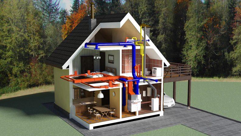 Как выбрать отопление для загородного дома