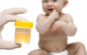 Сдача анализов мочи молодой мамы и ребенка