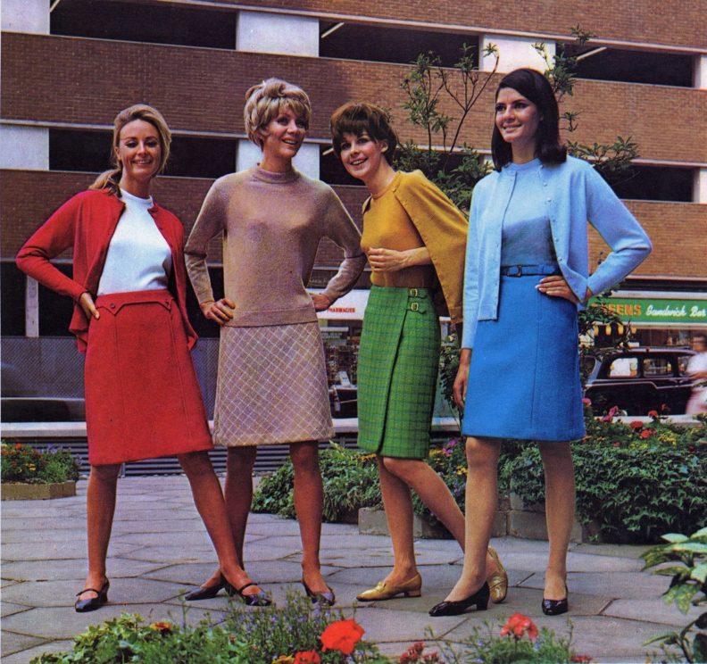 Что было модно в 50-е годы